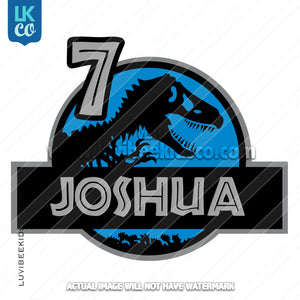 Jurassic World Logo Iron On Transfer - LuvibeeKidsCo