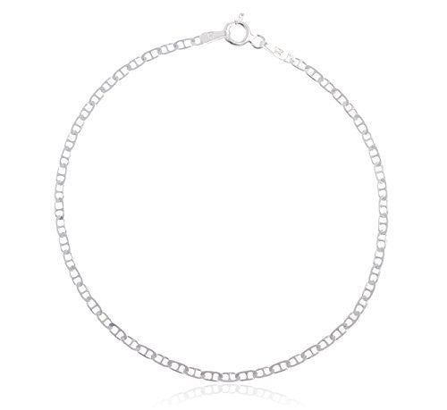 "925 Sterling Silver 2mm Mariner Chain - 7"" 16"" 20"" Available"