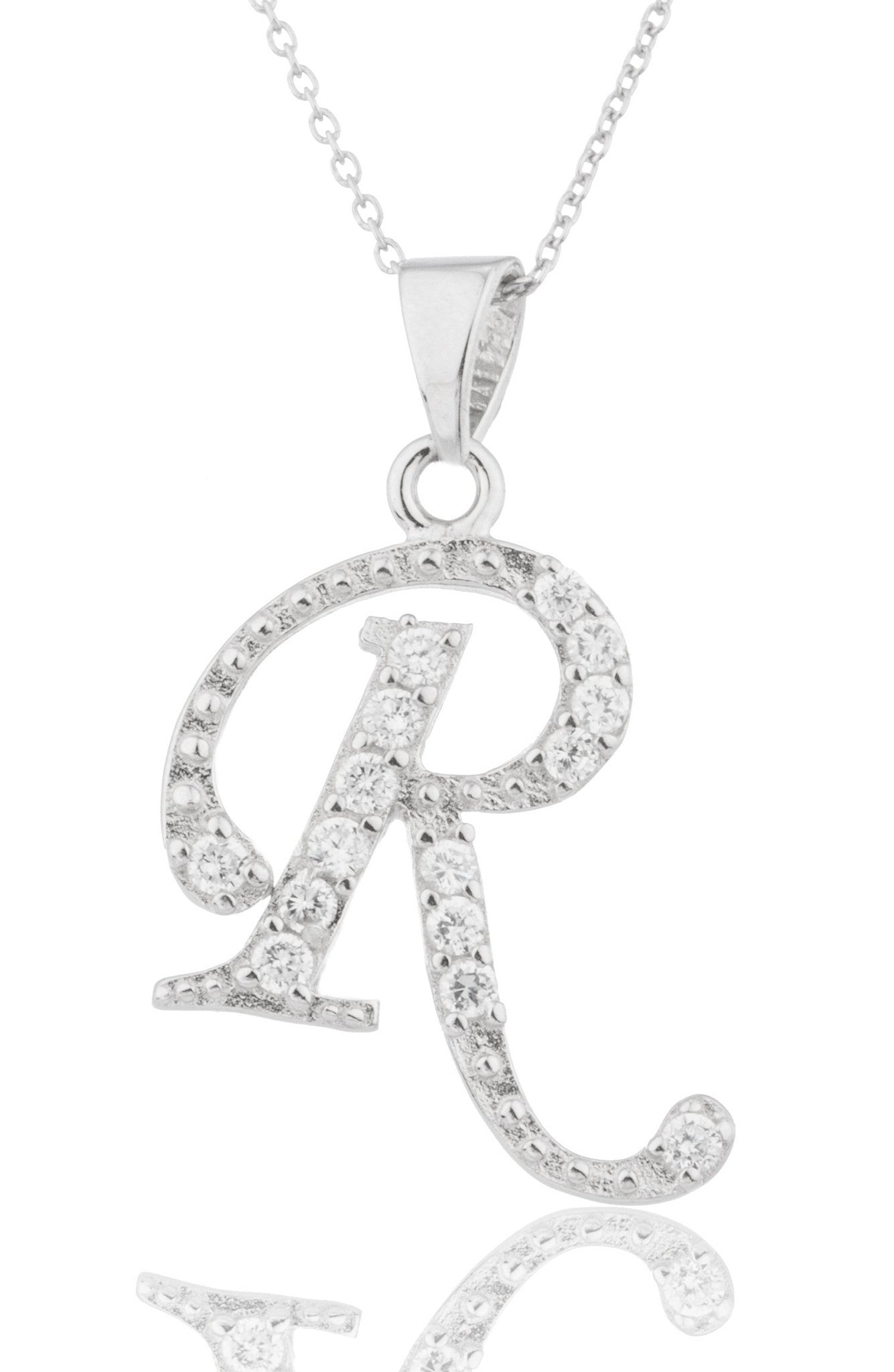 and dp r in jewellery necklace pendant amazon silver women plated men meenaz alphabet for