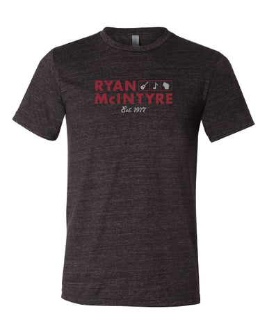 Ryan McIntyre Adult T-Shirt (Vintage Charcoal Grey)