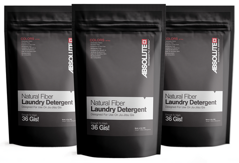 3-Pack Natural Fiber Laundry Detergent - Colors