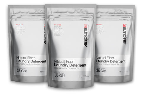 3-Pack Natural Fiber Laundry Detergent - Whites