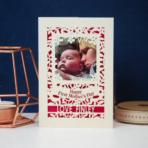 First Mother's Day Keepsake Photo Card -