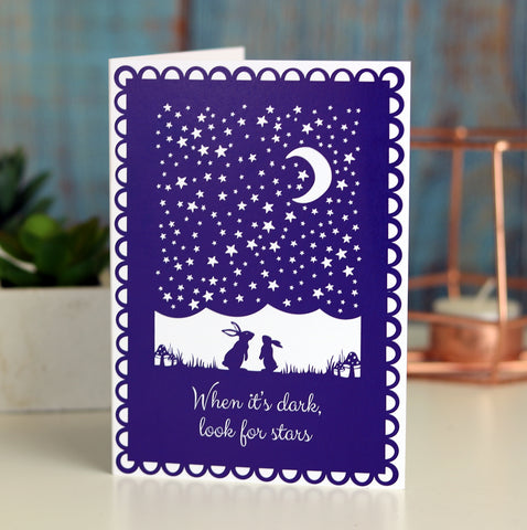 Look For Stars A6 Printed Card Wholesale Pack