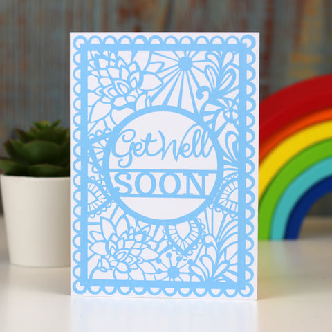 Get Well Soon A6 Printed Card Wholesale Pack