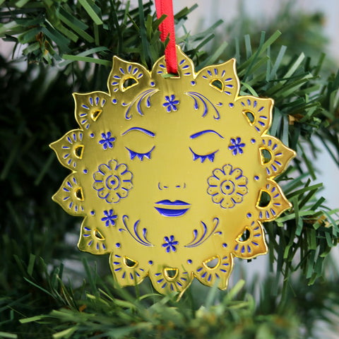 Bohemian Sun Hanging Christmas Decoration