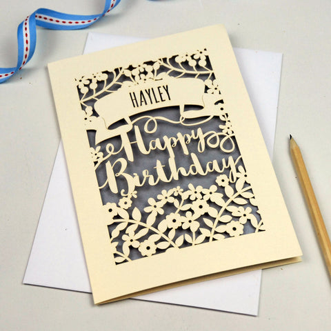 how to make a birthday card on word 2007
