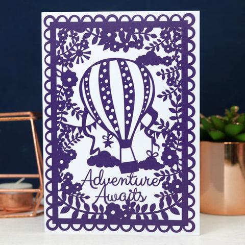 Adventure Awaits Printed Card A6