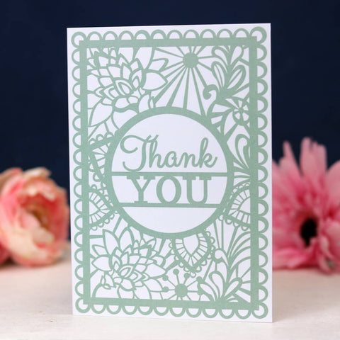 Thank You Printed Card A6