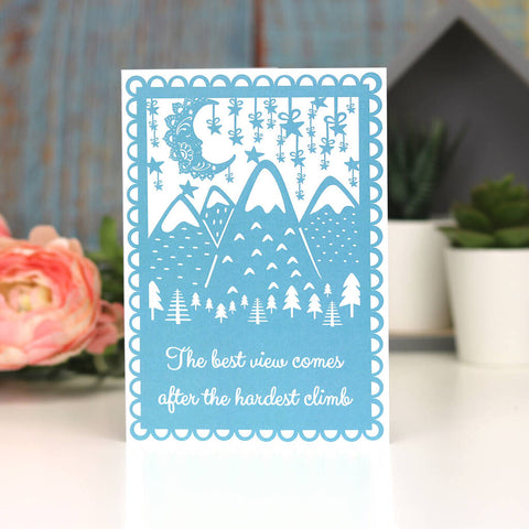 The Best View A6 Printed Card Wholesale Pack