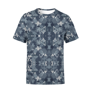 Men's Digital Blue Camo T-Shirt - Frugal Bob's