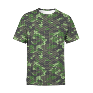 Men's Army Hex Camo T-Shirt - Frugal Bob's