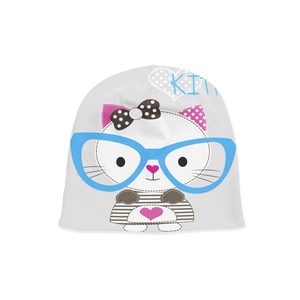 Infant Cute Kitty Beanie - Frugal Bob's