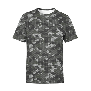 Men's Black Hex Camo T-Shirt - Frugal Bob's