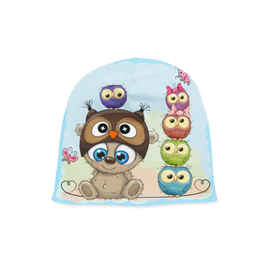 Infant Little Owl Beanie - Frugal Bob's