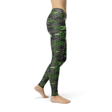 Cherie Army Hex Camo Leggings - Frugal Bob's