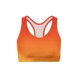 Red Yellow Ombre Sports Bra - Frugal Bob's