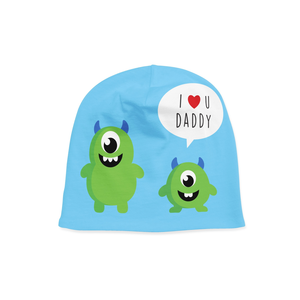 Infant Monster and Daddy Beanie - Frugal Bob's