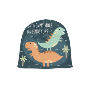 Infant Mommy and Dinos Beanie - Frugal Bob's