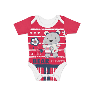 Infant Bear Academy Onesie - Frugal Bob's