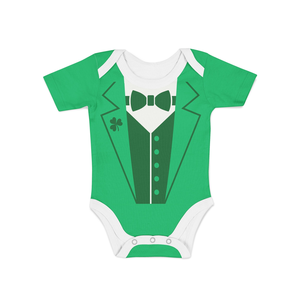 Infant Leprechaun Suit Onesie - Frugal Bob's