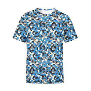 Men's Blue Camo T-Shirt - Frugal Bob's
