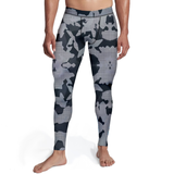 Men's Digital Grey Camo Tights - Frugal Bob's