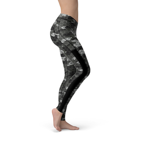 Veronica Mesh Black Hex Camo Leggings - Frugal Bob's