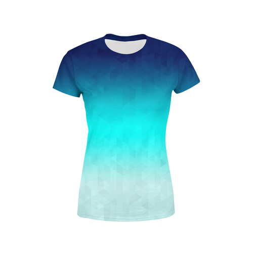 Women's Riptide Triangles T-Shirt - Frugal Bob's