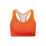 Yellow Red Ombre Sports Bra - Frugal Bob's