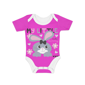 Infant Cute Little Bunny Onesie - Frugal Bob's