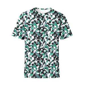 Men's Green white Camo T-Shirt - Frugal Bob's