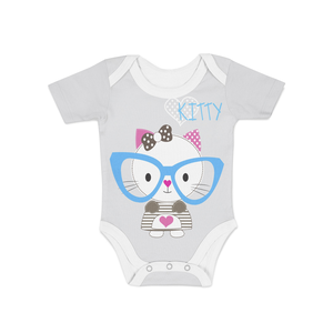 Infant Cute Kitty Onesie - Frugal Bob's