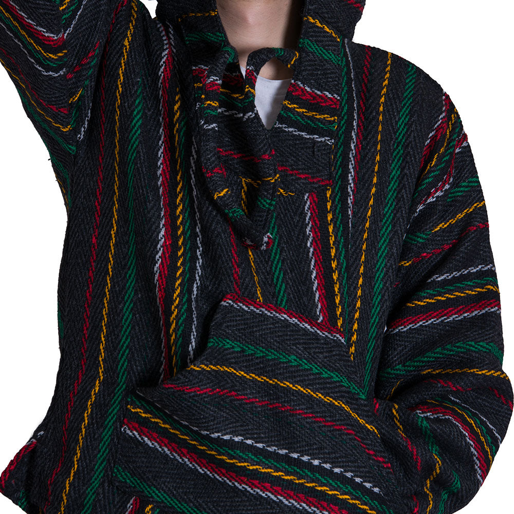 Rasta Green and Yellow Drug Rug