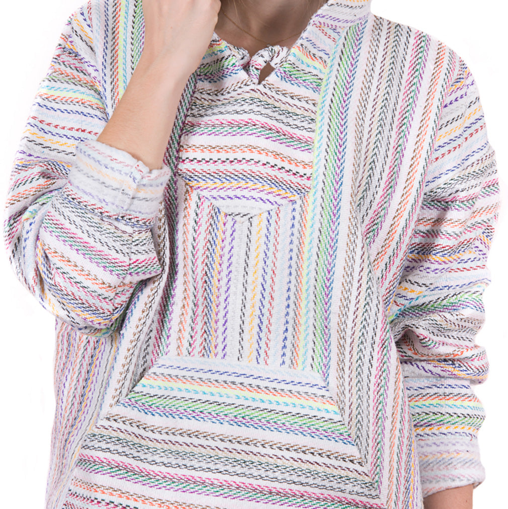 Vibrant Rainbow Colored Drug Rug