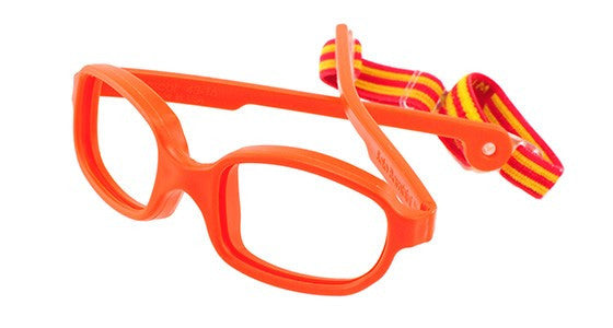 Solo Bambini Glasses for Boys and Girls Durable Red