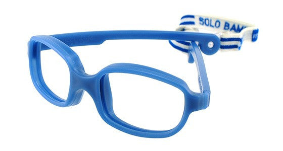 Solo Bambini Glasses for Boys and Girls Durable Blue