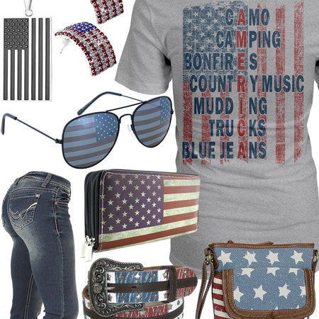 The Ultimate American Flag Outfit