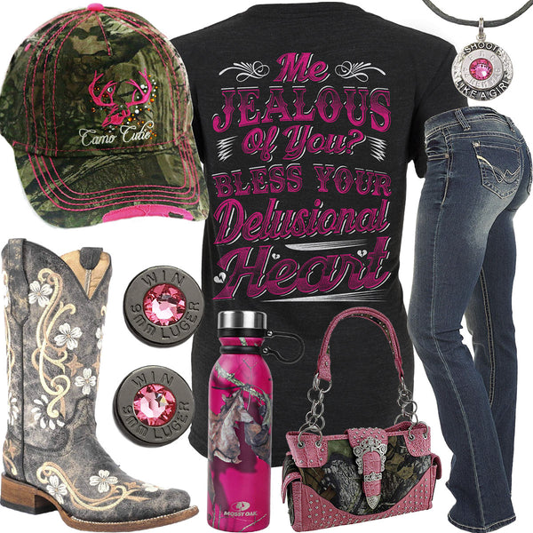 Me Jealous Of You Mossy Oak Bottle Outfit - Real Country Ladies 95e43a0a3