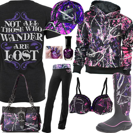 Not All Those Who Wander Are Lost Outfit