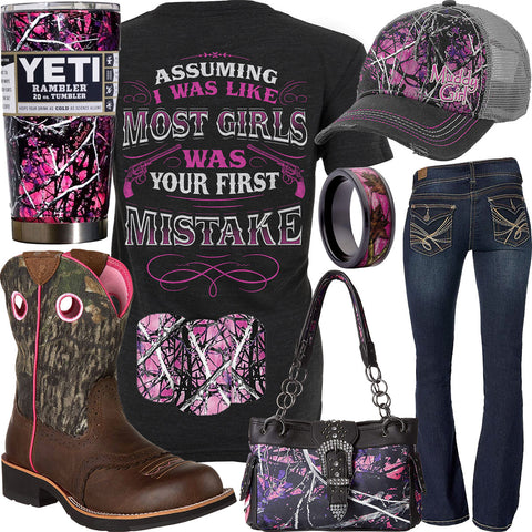Your First Mistake Muddy Girl Nail Art Outfit 8284b2f22