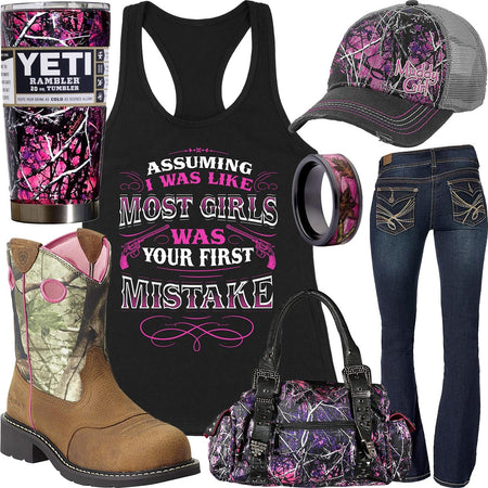 Your First Mistake Tank Top Outfit