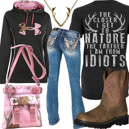 Farther From Idiots Miss Me Jeans Outfit