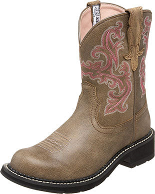 Ariat Brown Bomber Fatbaby Cowboy Boot