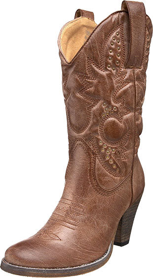 Very Volatile Tan Denver Boot