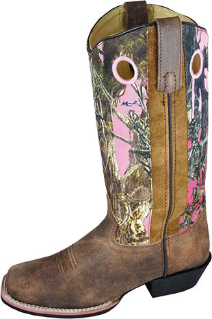 Smoky Mountain True Timber Pink Camo Boot