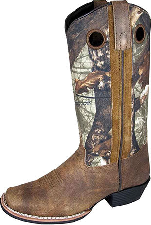 Smoky Mountain Brown Tupelo Camo Boot