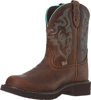 Justin Boots Tan Jaguar Gypsy Collection Boot