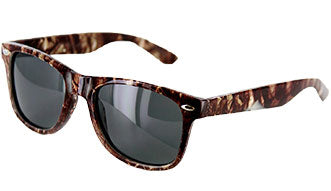 Brown Camo Sunglasses
