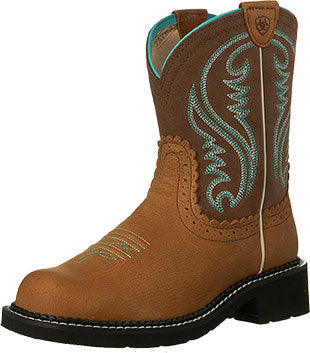Ariat Tan Rowdy Fatbaby Heritage Cowboy Boot